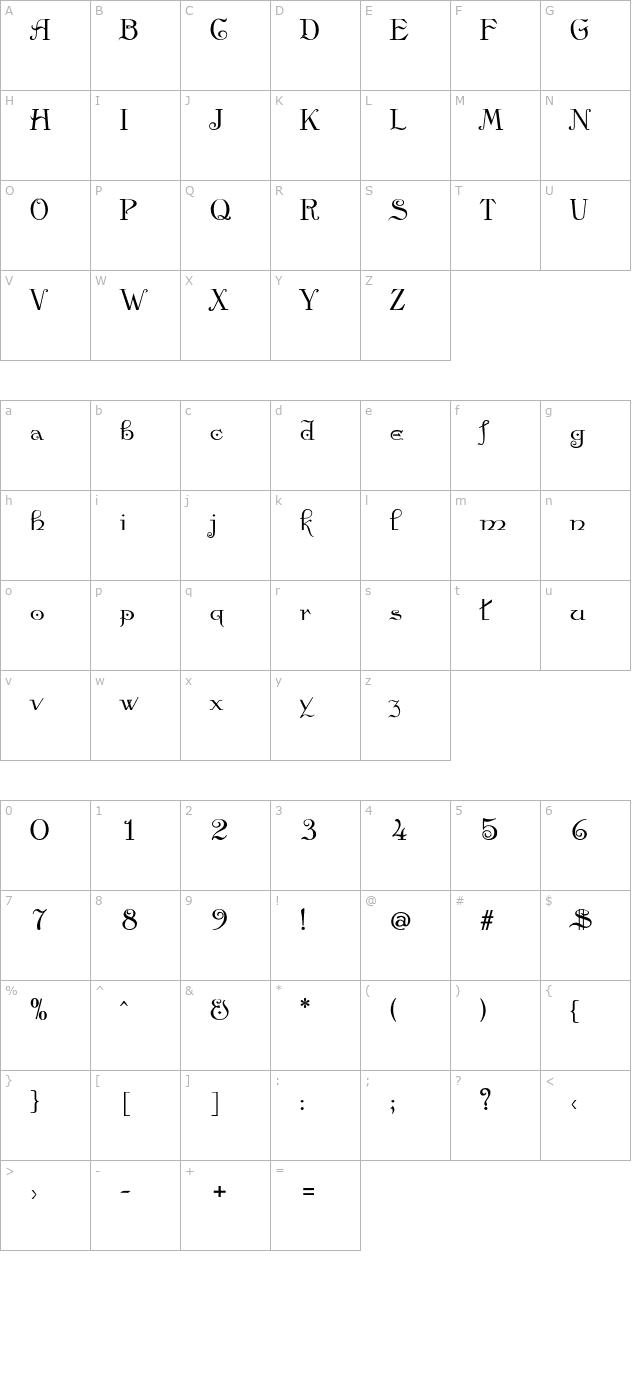 Anglican Bold Font Fontpalace Com