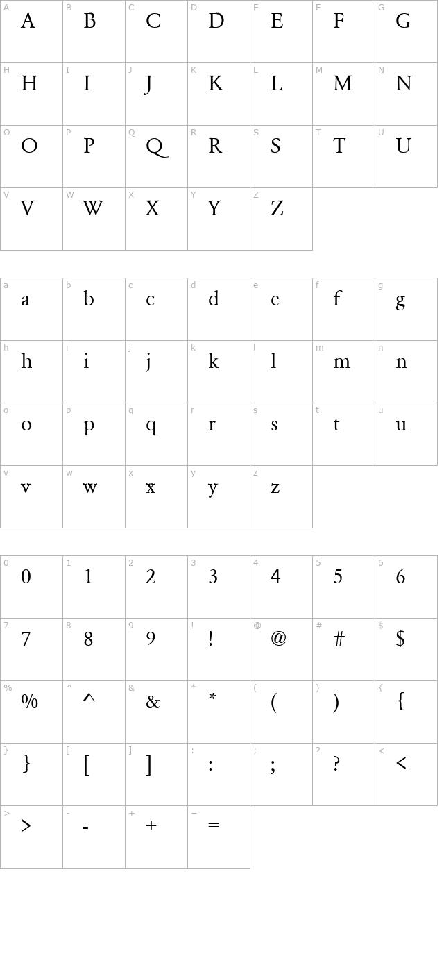 Garamond Regular Font - FontPalace com
