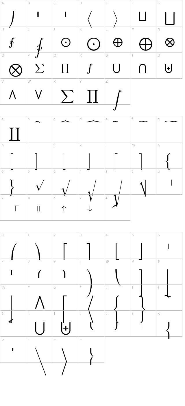 jsmath fonts