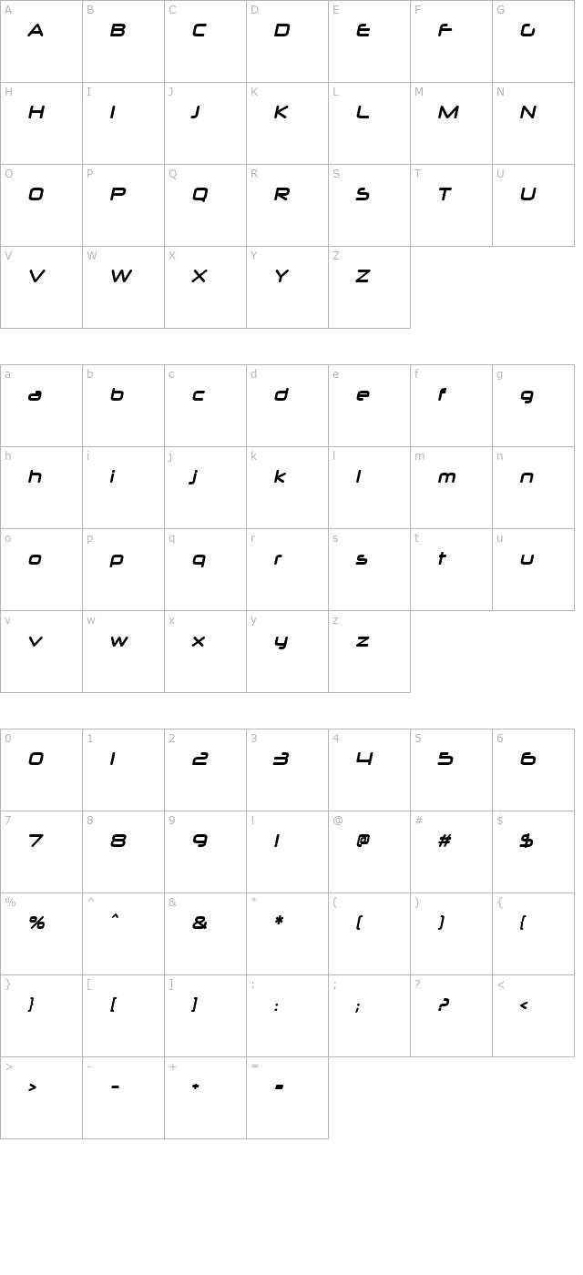 Download Neuropol X Bold Italic Font - Free Font Download