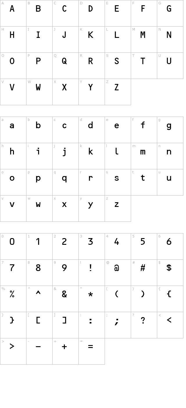 Download OCRBAlternate Font - Free Font Download