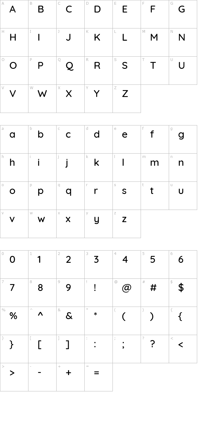 Download Quicksand Medium Font - Free Font Download