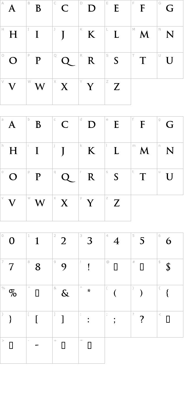 Trajan font for free