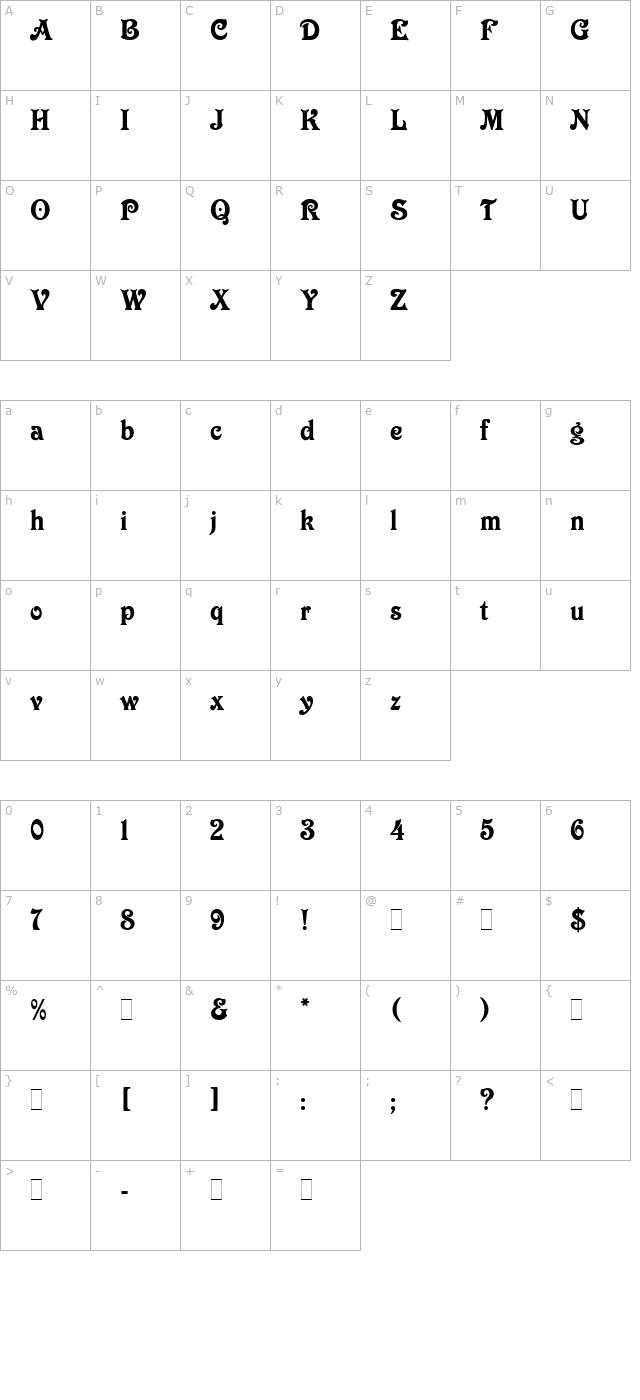 Download Victorian LET Font - Free Font Download