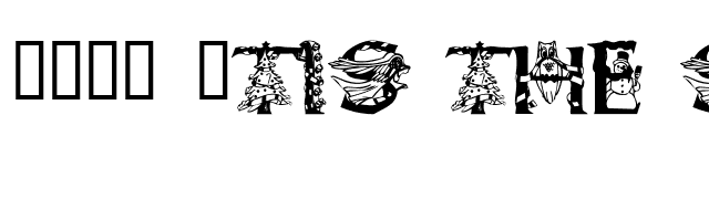 101! 'Tis the SeaZon font preview